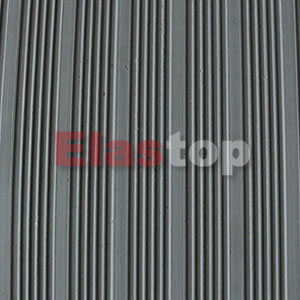 Wide Ribbed Rubber Sheet