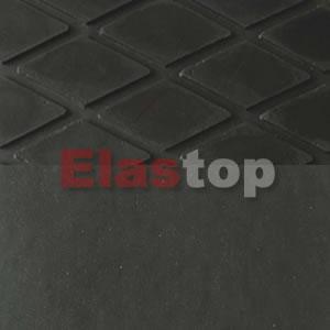 Rhombus Rubber Mat