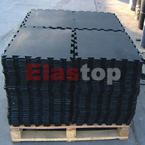 Interlocking Cow Rubber Mat