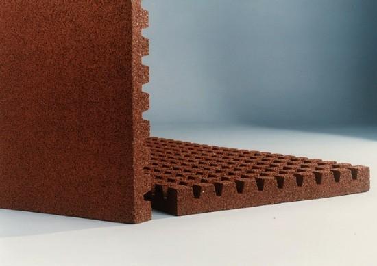 Rectangular Rubber Tile